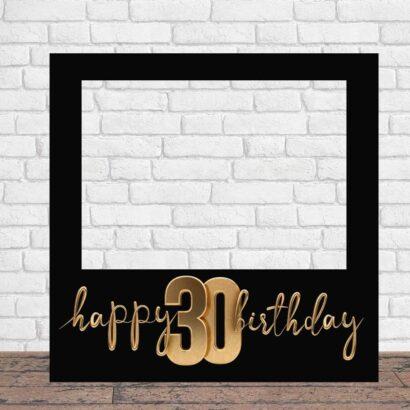 Photocall Feliz Cumpleaños 30