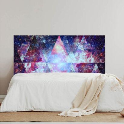 Cabecero Cama Galaxia Abstracto