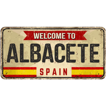 Matrícula Decorativa Albacete