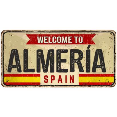 Matrícula Decorativa Almería