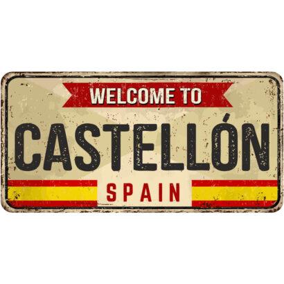 Matrícula Decorativa Castellón