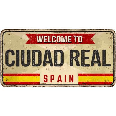 Matrícula Decorativa Ciudad Real