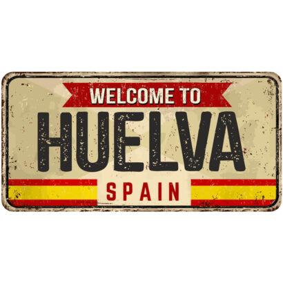 Matrícula Decorativa Huelva