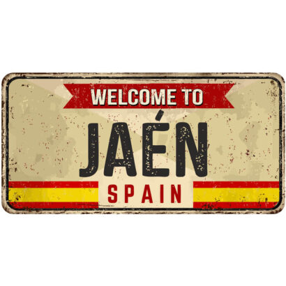 Matrícula Decorativa Jaén