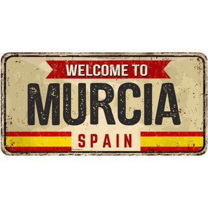 Matrícula Decorativa Murcia