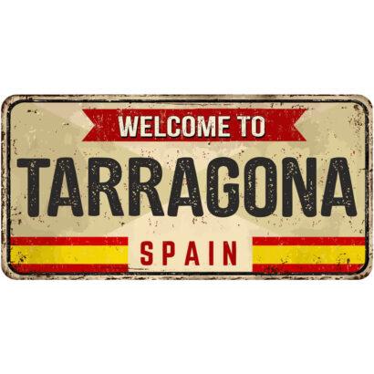 Matrícula Decorativa Tarragona