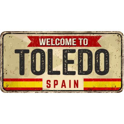 Matrícula Decorativa Toledo